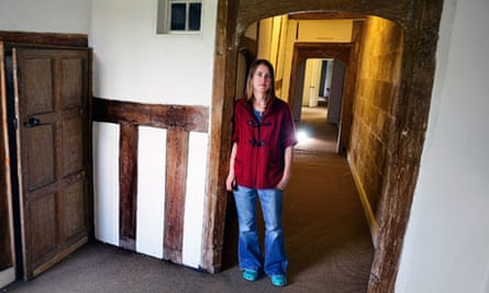 Lorna Sankey, property guardian at The Charterhouse, an old 14th Century Monastery in Coventry