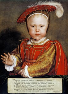 Hans Holbein's childhood portrait of Edward VI (1537-1553)