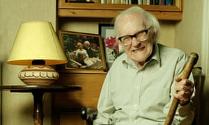 Michael Foot, pictured just before his 92nd birthday