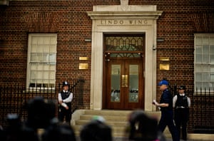 royal baby watch: Lindo Wing of Queen Mary's Hospital Paddington