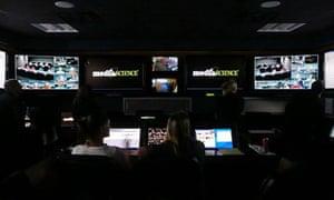 The MediaScience control room