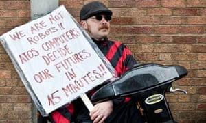 Atos protest