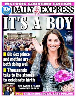 399b5ef549eb4 Royal baby: the newspaper front pages - in pictures | Media | The ...