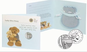 The silver pennies issued by the Royal Mint