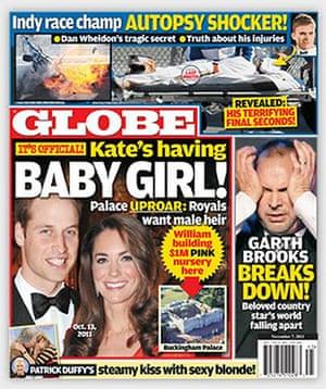 Royal baby predictions: Globe