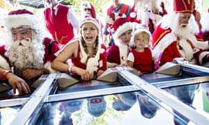 It's high summer, what better time for the Santa Claus World Congress to take place in Bakken, the worlds oldest amusement park on the outskirts of Copenhagen in Denmark.