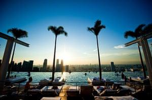 Swimming pools: Marina Bay Sands, Singapore