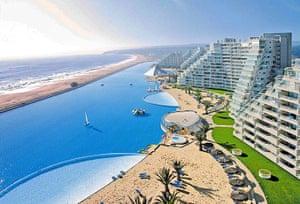 Swimming pools: San Alfonso del Mar seaside resort, Chile