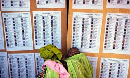 Election centre in Bamako