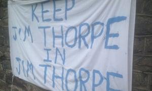Jim Thorpe banner