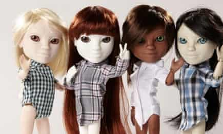Makiedolls … choose their eyes, nose, mouth and hair in a process of parametric eugenics