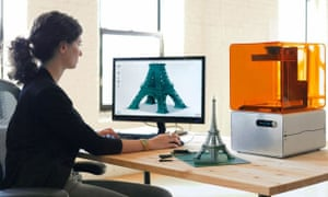 The future is here? … 3D-printing and other forms of digital manufacture are on display in the Design Museum's new exhibition.