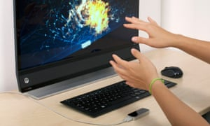 Leap motion in action