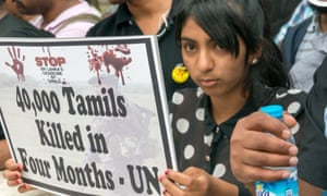 A Tamil protest in London on the 30th anniversary of the Black July pogrom that killed 3,000.