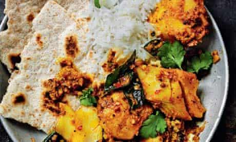 Rick Stein's cod curry