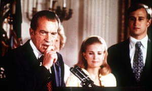 President Nixon gives farewell speech to White House staff, 9 August 1974