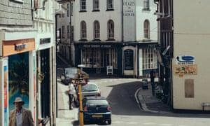 The market town of Liskeard in Cornwall