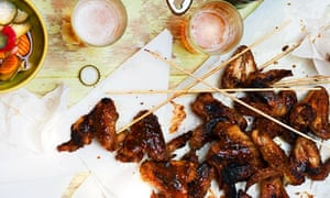 Pitt Cue's barbecue chicken wings