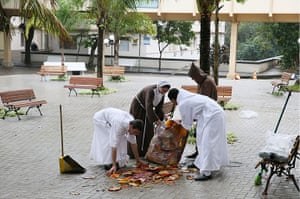 Pope in Brazil: Saint Francis of Assisi Hospital cleans up in anticipation of Pope Francis'