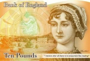 Jane Austen £10