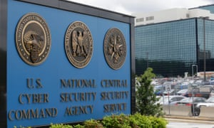 NSA campus in Fort Meade, Maryland.