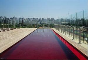 swimming pools: Hotel Unique, Sao Paulo