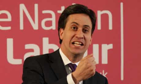 Miliband reforms speech