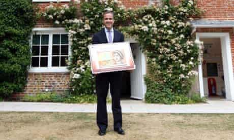 Mark Carney unveils Jane Austen banknote