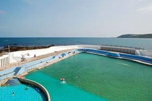 swimming pools: Jubilee swimming pool, Penzance