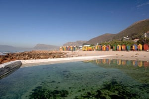 swimming pools: Tidal pool St James beach, Cape Town