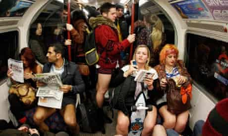 No trousers day tube