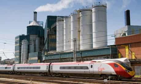 A Virgin Pendolino train.