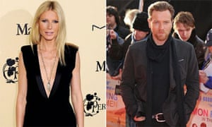 Gwyneth Paltrow and Ewan McGregor