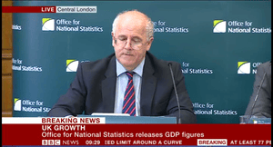 Joe Grice, chief economist at the ONS