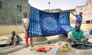 The Kofar Mata dye pits in Kano, northern Nigeria