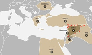 Syrian refugees: where are they? – interactive