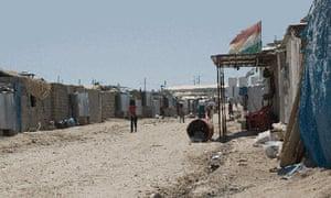 Domiz refugee camp in Iraq.