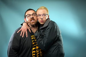 original observer: Simon Pegg and Nick Frost