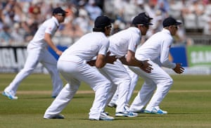 original observer: England slip fielders