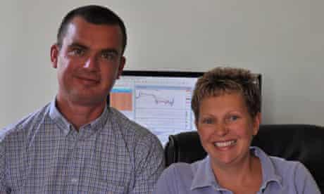 John Ellis and Susan Julings