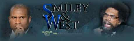 Banner from Smiley and West's PRI radio talkshow