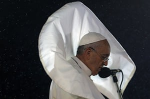 Pope Brazil updated: TOPSHOTS Pope Francis addresses the youn