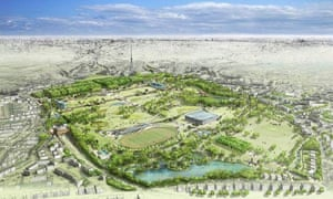 The new Crystal Palace park, as imagined by Latz and Partner in the 2008 plans, commissioned by the London Development Agency.