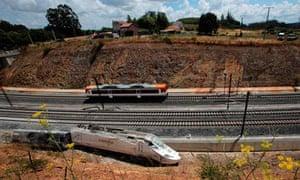Santiago train wreckage