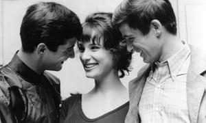 Bernadette Lafont, centre, in Les Godelureaux, 1961