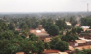 Bangui, capital city