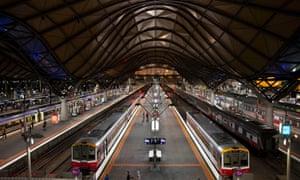 Southern Cross Station on Spencer Street, Melbourne