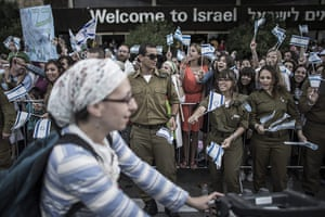 20 Photos: New Israeli immigrants from the US arrive in Tel Aviv
