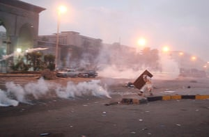 Cairo clashes: A member of the Muslim Brotherhood