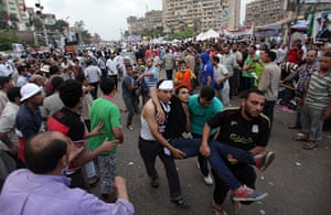 Cairo clashes: Pro-Morsi injured